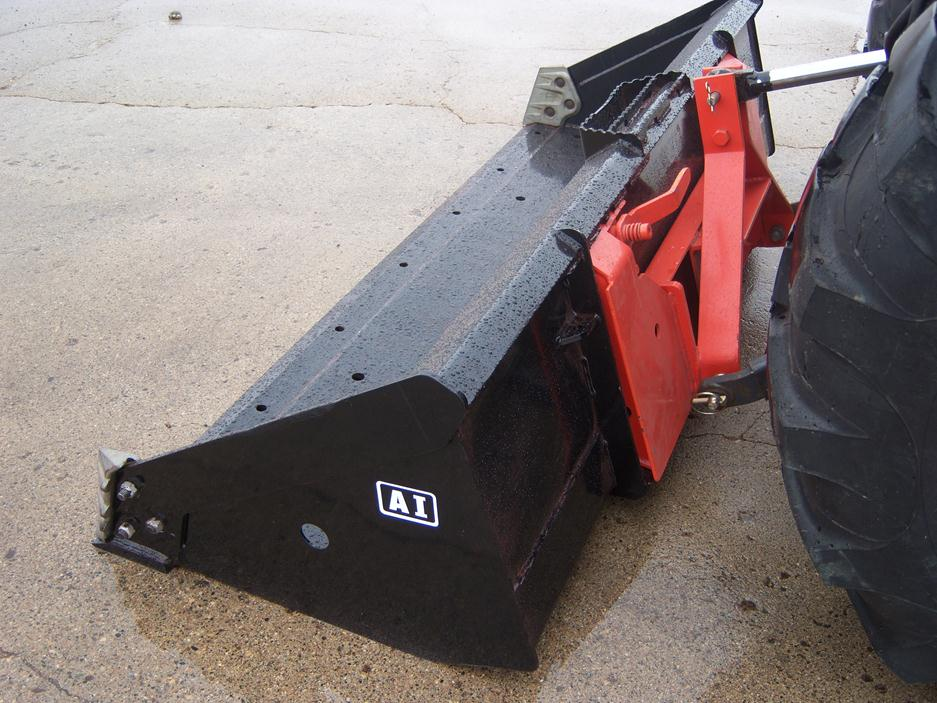 3 Point Hitch Forklift Attachment : Rear loader attachments international