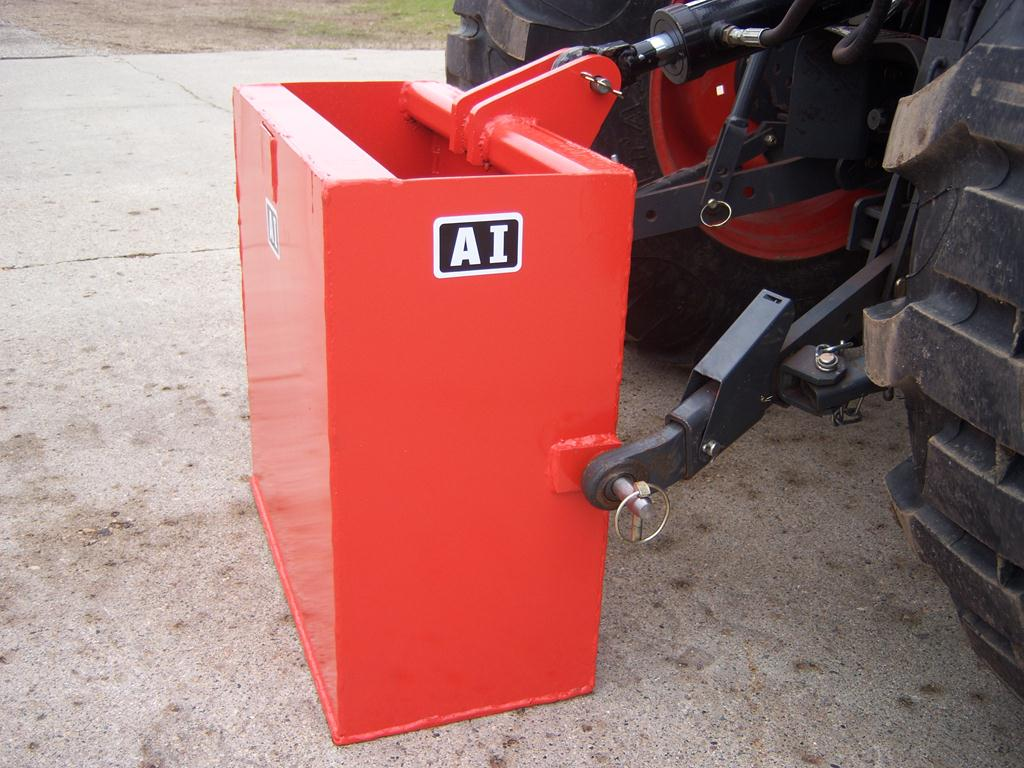 Tractor Carry All Box : Ag tech attachments international