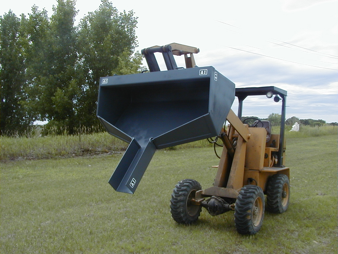 Skid Steer Buckets Attachments International