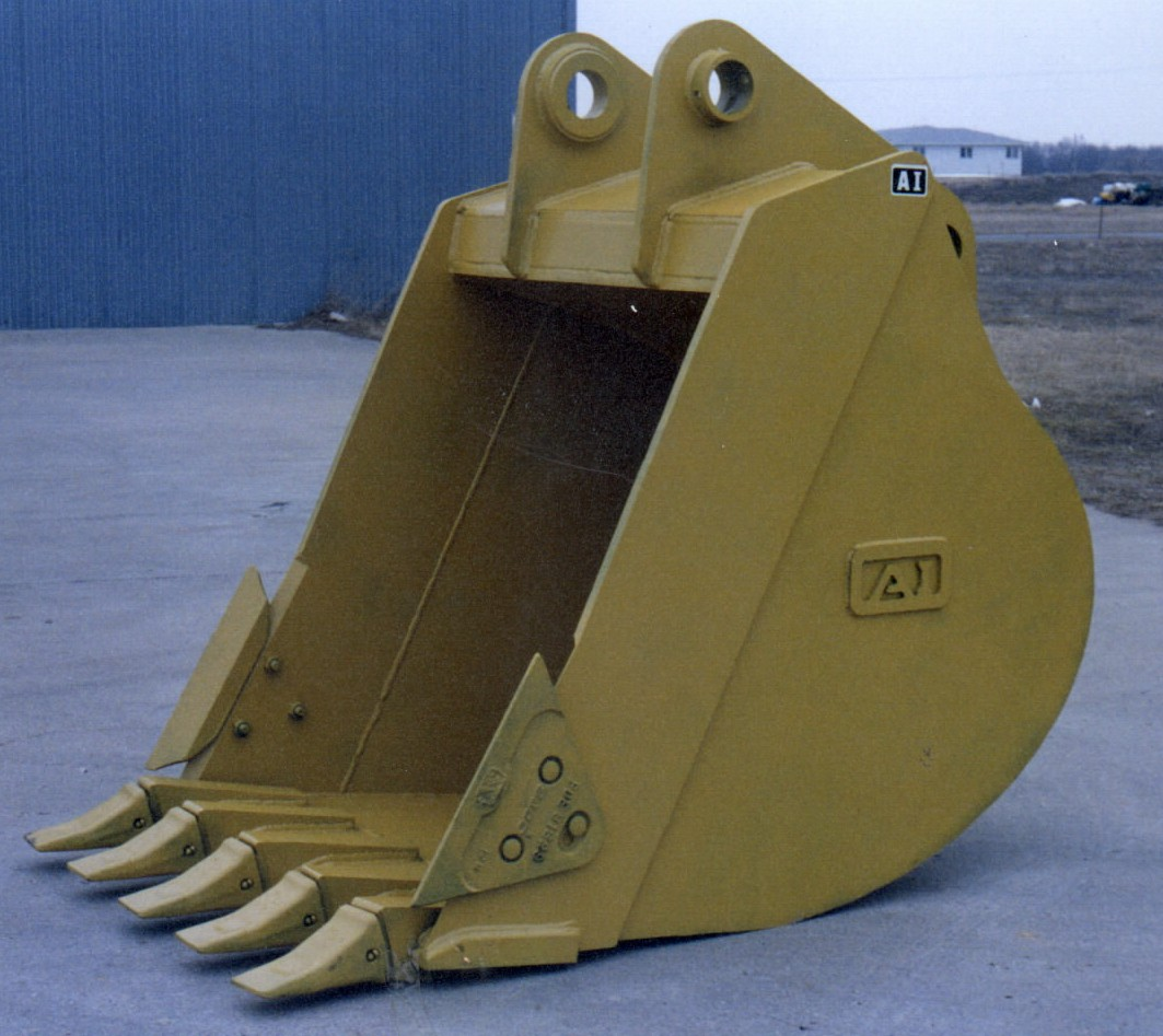 Heavy Duty Backhoe Bucket with Teeth